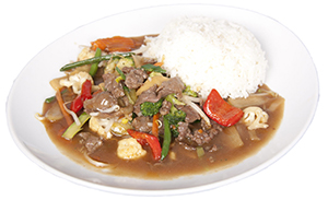 Chop Suey with beef