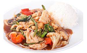 Chop Suey with chicken