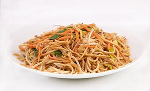 Fried noodles veggie