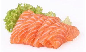 sake sashimi 6 Scheiben